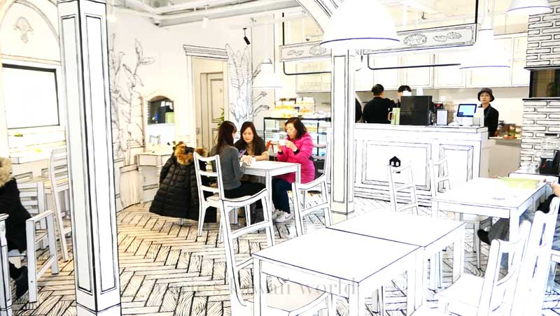 The Cartoon Cafe Yeonnam Dong 239 20 Cafe And Cafe Ynd